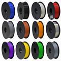 8 цветов на выбор, нить для 3d принтера, 1 кг/рулон, нить из пла-пластика/АБС-нить, 1,75 мм, пластиковые расходные материалы, материал для 3d принтер...