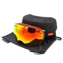 1 шт зимние двухслойные лыжные очки для спорта на открытом воздухе