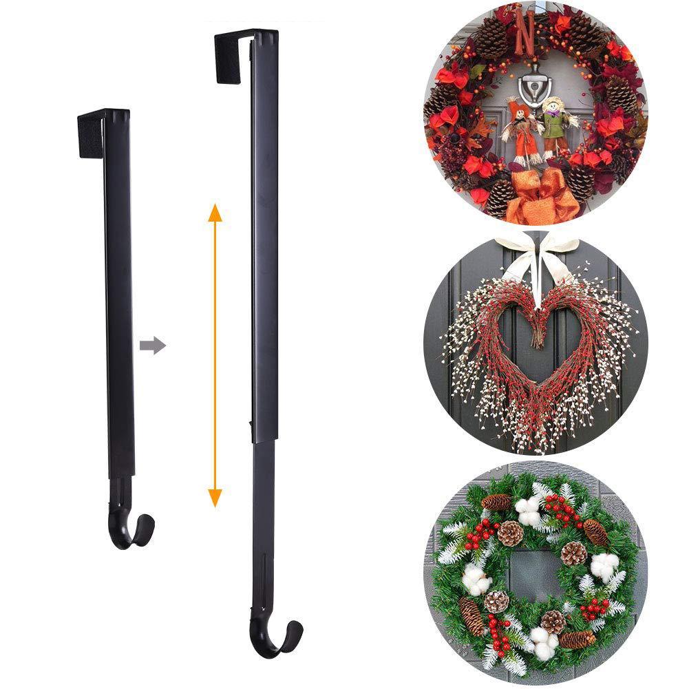 Christmas Wreath Hook Hanger Over Door Retractable Door Hook Christmas 15 Christmas Decorations For Home Christmas Gift New