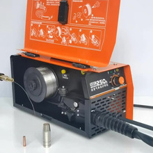 RU Delivery Carbon dioxide gas shielded welding machine integrated machine small two welding machine 220V home gas-free