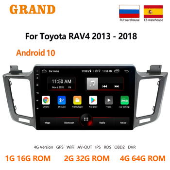 For Toyota RAV4 4 2013 2014 2015 2016 2017 2018 Andriod 2din Car Radio Multimedia Video Player GPS Navigation 2Din Dvd Autoradio image