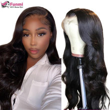 13x4 Lace Front Human Hair Wigs For Black Women Malaysia Body Wave Human Hair Wigs Pre Plucked 250 Density Remy 4x4 Closure Wigs