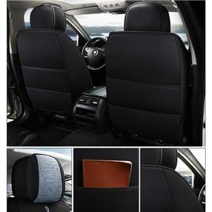 Image 3 - Deluxe universal flax car seat cover For ssangyong kyron korando actyon rexton for suzuki jimny sx4 baleno grand vitara car seat