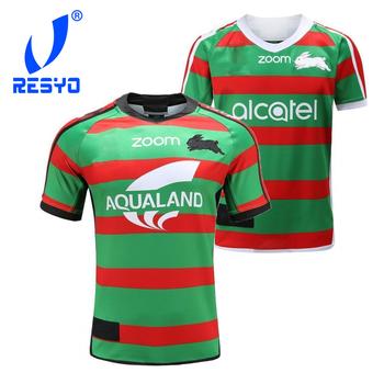 RESYO dla 2020 South Sydney Rabbitohs męska replika Home Away Rugby Jersey sportowa koszula S-5XL tanie i dobre opinie NoEnName_Null Krótki Poliester Koszulki 2020 Rabbitohs Pasuje prawda na wymiar weź swój normalny rozmiar