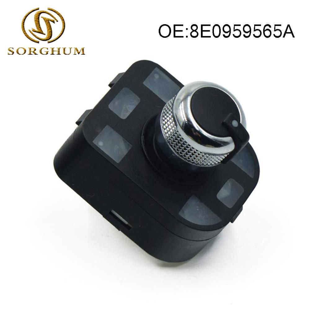 Audi Chrome Mirror Switch A1 A2 A3 A4 A5 A6 A8 R8 Q5 Q7 TT S4 RS4 S6 RS6 S8 S RS