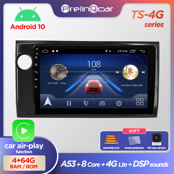 Prelingcar Android 10.0 NO 2 din DVD Car Radio Multimedia Video Player GPS Navigation For HONDA BRV 2015-2019 Octa-Core GPS IPS image
