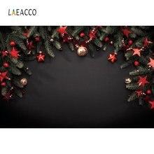Черные фоны laeacco с изображением соусов звёзд колокольчиков