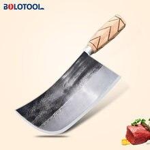 Нож кухонный кованый ручной работы китайский нож шеф повара