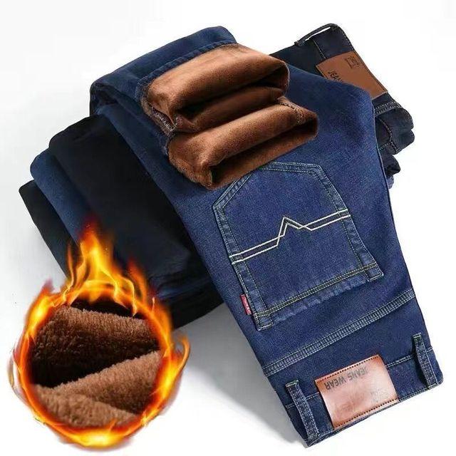브랜드 남자의 얇은 청바지 2020 여름 새로운 스타일의 비즈니스 캐주얼 슬림 맞는 탄성 클래식 스타일의 바지 하늘색 바지 남성