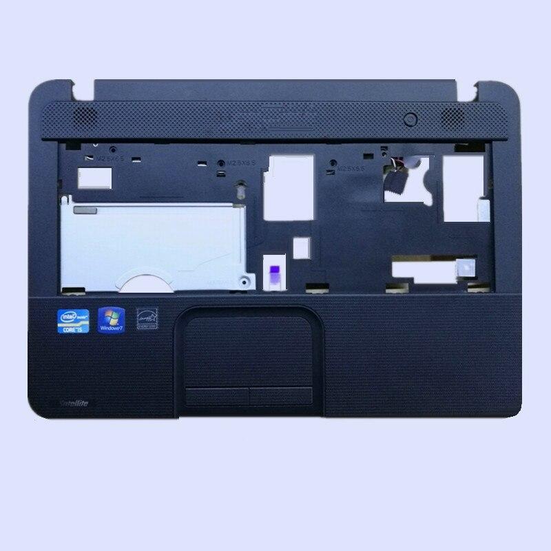 New Original Laptop Palmrest Upper Case/Bottom Case Lower Cover For TOSHIBA Satellite C800 C805 C840 C845 Series Black
