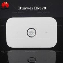 Карманный мини мобильный Wifi роутер huawei E5573 150 Мбит/с 4G LTE роутер с антенным портом