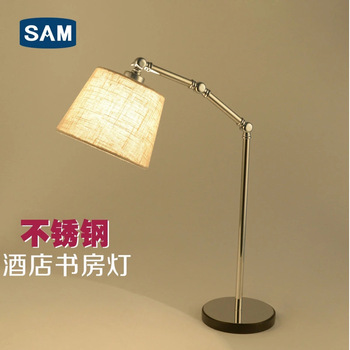 room decoration engineering desk lamp contemporary and contracted bedroom berth lamp warm sitting room study UL CE