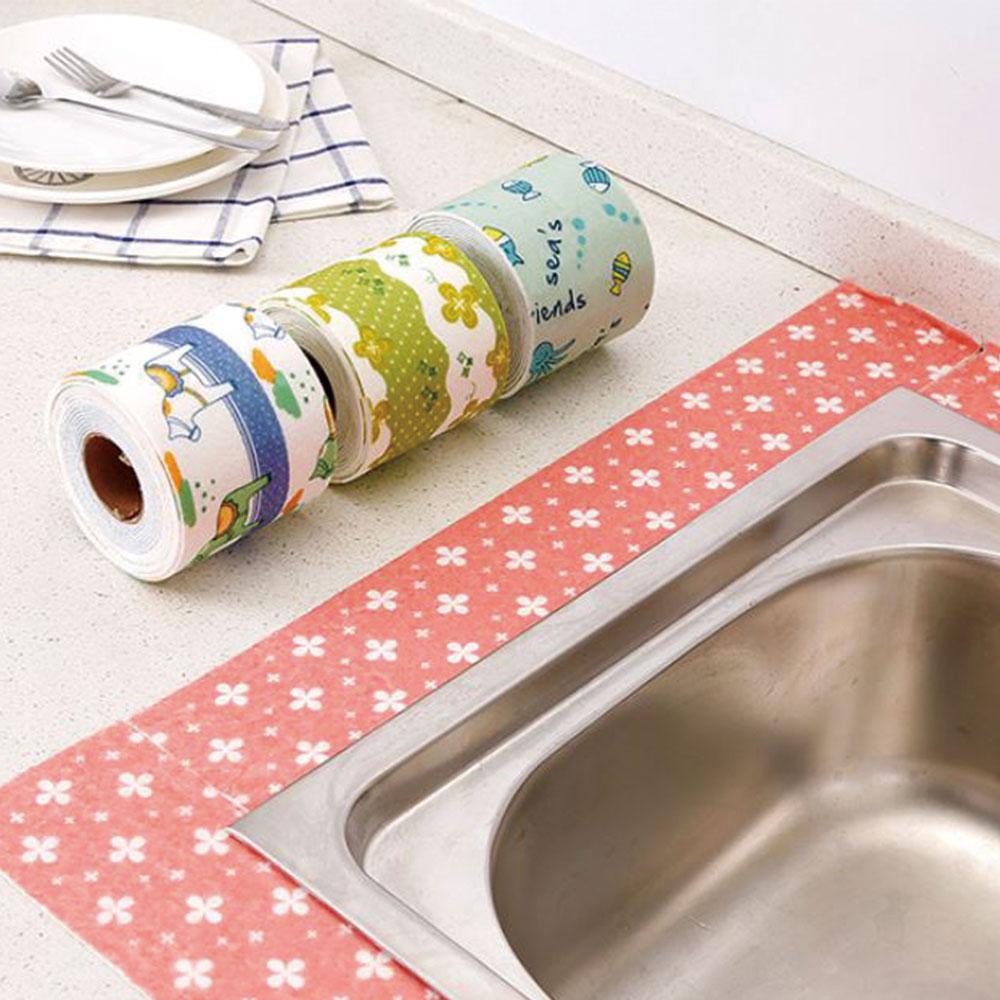 PVC Kitchen Bathroom Wall Sealing Tape Waterproof Mildew Proof Sink Joint Crevice Sticker Corner Line Sticking Strip Supplies