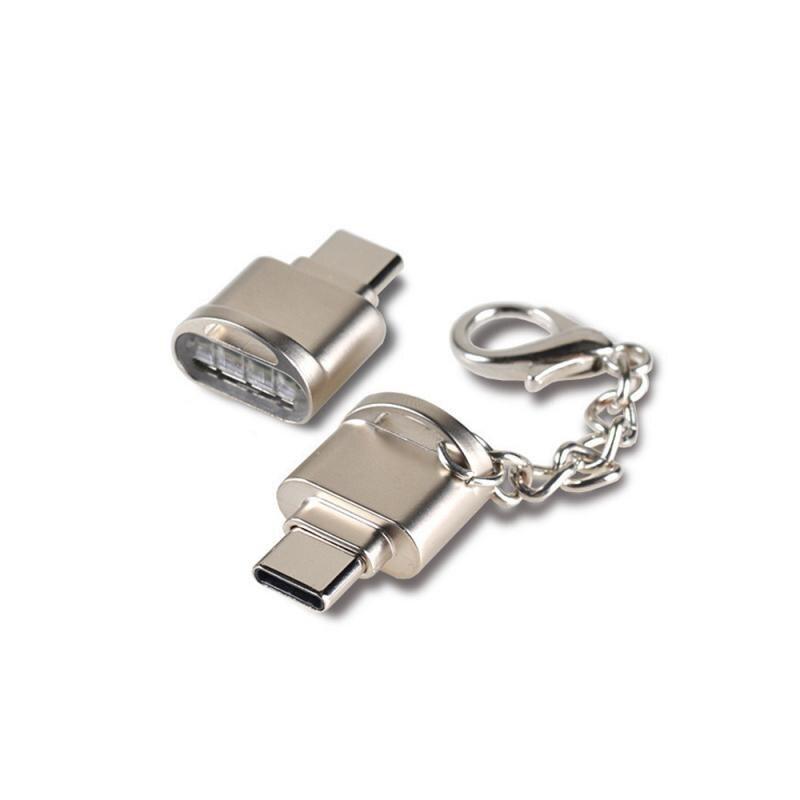 Портативный мини Type-C USB 3,0 TF кардридер Micro SD OTG адаптер USB кардридер для Huawei Samsung Macbook в наличии хит продаж