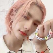 Kpop Stray Kids Bang Chan Changbin Hyunjin Lee Know Seungmin браслет ювелирные изделия Феликс ювелирные изделия браслет Шарм Браслеты