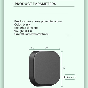 Image 4 - Protective Lens Cap For GoPro Hero 8 Black Action Camera Protector Cover For Go Pro 8 Action Camera Accessory Dust Proof