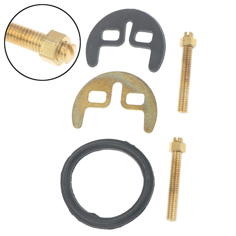 Tap Faucet Fixing Fitting Kit M8 Bolt Washer Wrench Plate Set Kitchen Basin Tool Bathroom Faucet Accessories