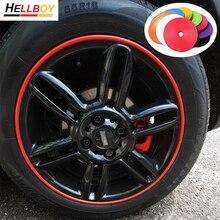 8 м автомобильных Шин протектор обода колеса Стикеры полоски для VW Volkswagen Golf 6 7 Mk7 поло 6r 6N Bora Jetta Mk6 Scirocco Tiguan BMW E90