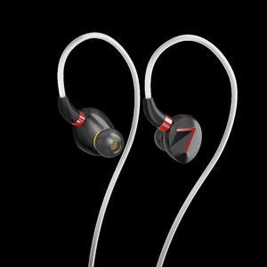 Image 1 - 7HZ i88 מיני 8mm LCP סרעפת נהג דינמי HiFi ב אוזן אוזניות עם CNC אלומיניום פגז מותאם אישית להסרה כבל עבור מוסיקאי