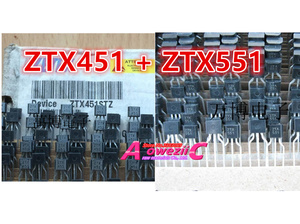 Image 4 - 100% חדש מיובא מקורי ZTX450 ZTX550 ZTX451 ZTX551 ZTX651 ZTX751 ZTX653 ZTX753 TO 92S טריודה 450 550 451 551 651 751 653 753