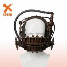 は逆クマトラップブロンズ軟質樹脂マスク顎トラップホラーはフランチャイズトラップマスクグッズ Xcoser