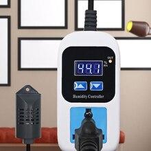все цены на Digital Humidity Controller Humidity Moisture Control Switch Socket Outlet Inlet EU Plug Hygrometer Hygrostat 110v-220v онлайн