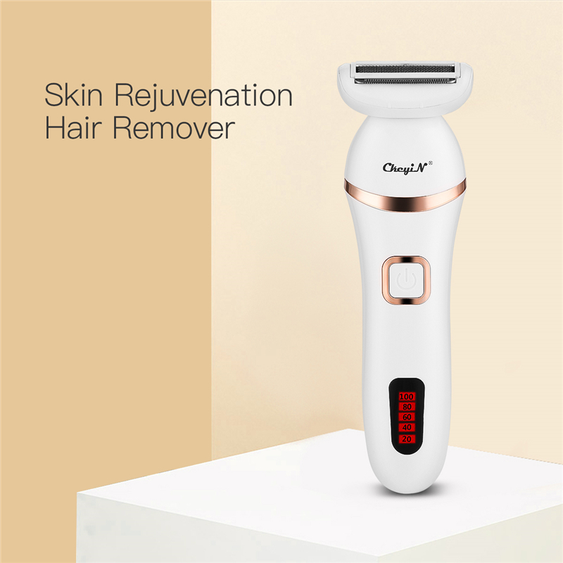 Portable  Hair Removal Electric Epilator For Women And Men Painless USB Rechargeable Body Arm Leg Hair Trimmer Shaver Machine 45