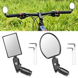 Зеркало заднего вида для велосипеда, 1 шт., квадратный круглый Руль, отражатель заднего вида для горного велосипеда, электрический велосипед...