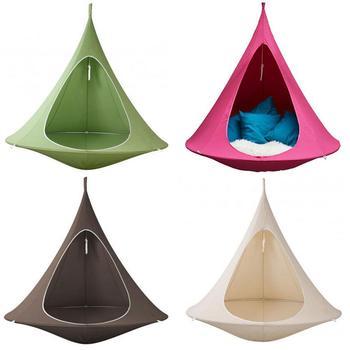 UFO Shape Teepee Tree Hanging Silkworm Swing Chair For Kids & Adults Indoor Outdoor Hammock Tent Hamaca Patio Furniture