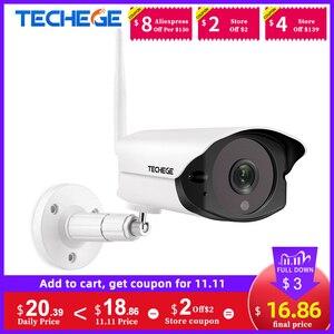 Image 1 - Techege 1080P HD Wifi IP מצלמה חיצוני מקורה 2MP אלחוטי Wired אבטחת מצלמה זיהוי תנועה אינטרקום TF כרטיס חריץ