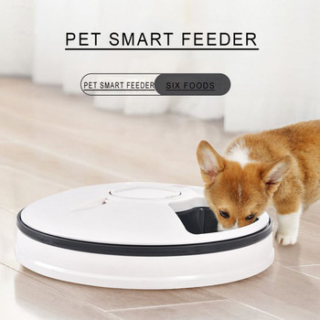 Automatic 6-meal Pet Feeder For Cats And Dogs House Pets And Farm Animals 2019 High Quality Support Wholesale Dropshipping