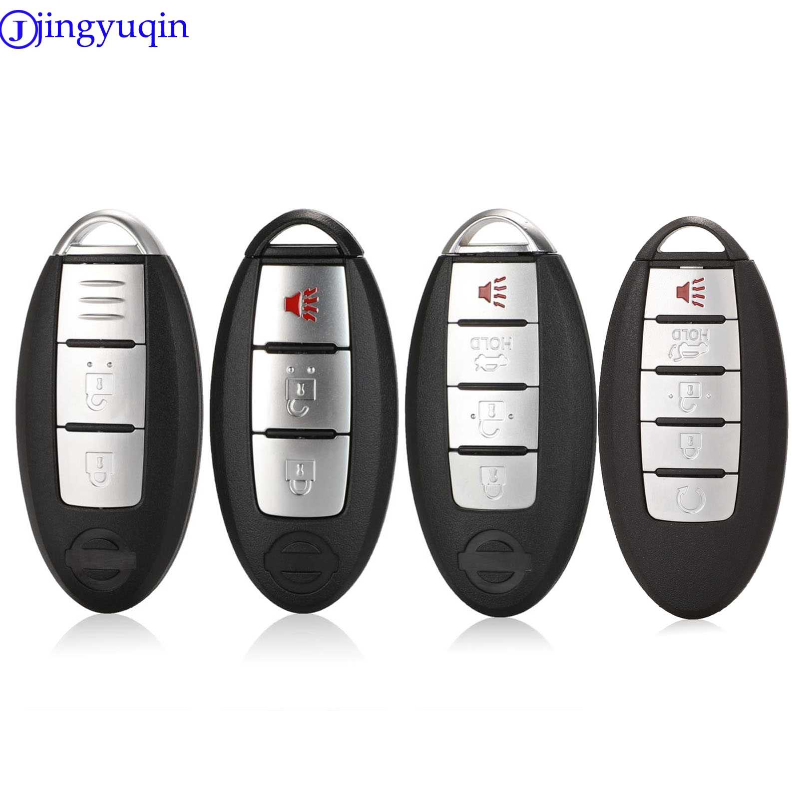 3 Buttons For Nissan Altima Maxima Sentra Smart Remote Key Shell Case Fob