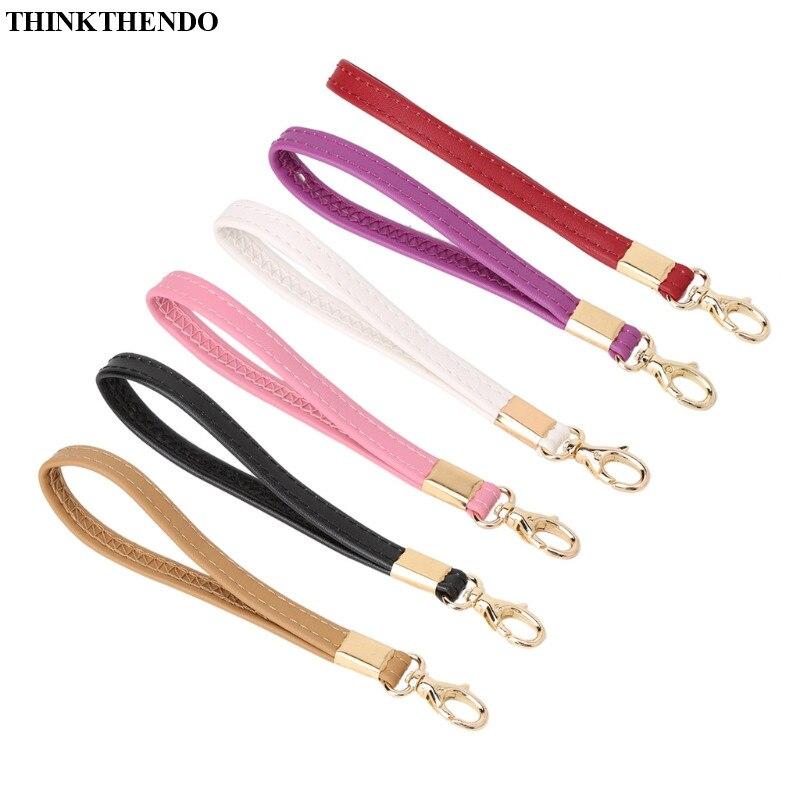 THINKTHENDO Replacement Wrist Strap Bag Accessories For Clutch Wristlet Purse Pouch 6 Colors