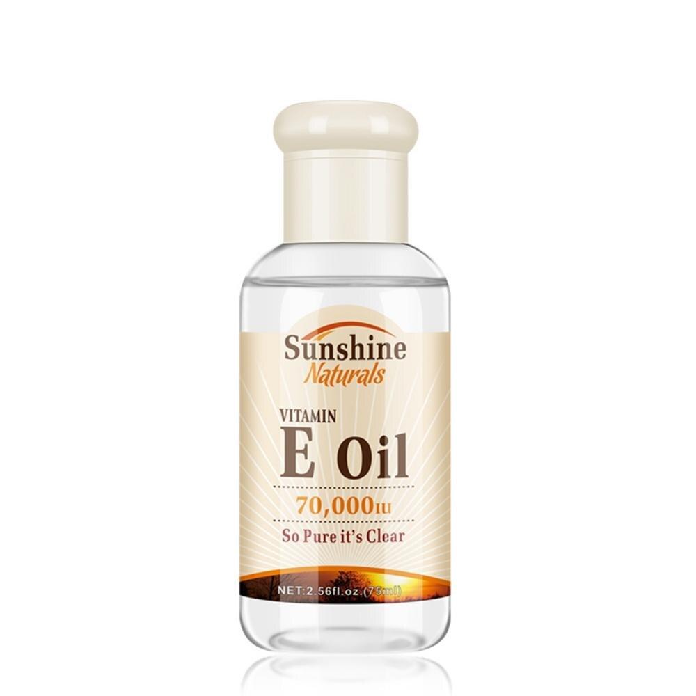 VITAMIN E OIL Moisturizing Lighten Freckles Firming Skin Lighten Fine Lines Face Care Oils Whitening Serum Hyaluronic Acid