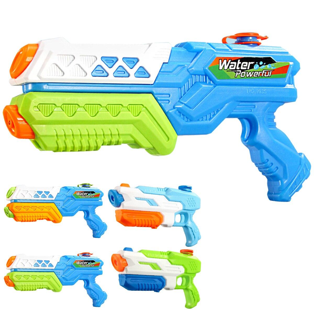 Water Gun Super Blasters Soaker Long Range Squirt Gun Toys High Capacity Summer Water Fight And Family Fun Toys