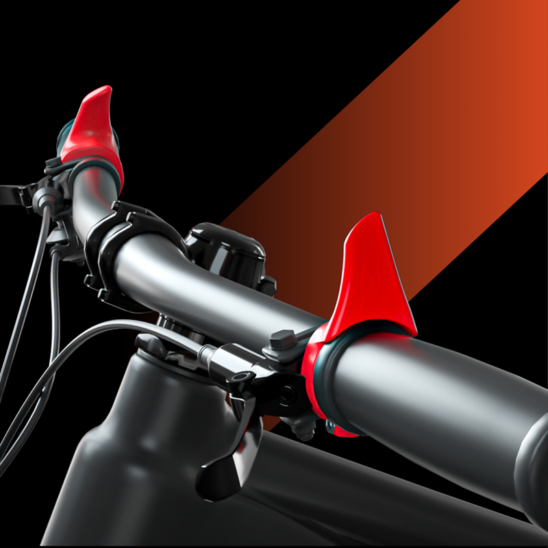 1 Pair 125mm Carbon Fiber MTB Road Bike Bicycle Handlebar Bar End Ends Kit