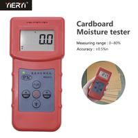 Yieryi NEW MS310 Inductive Moisture Analyzer Wood Moisture Meter For Wood Timber Paper Bamboo Carton Concrete Metope