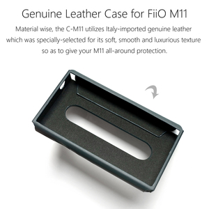 Image 5 - For FiiO SK M11 C M11 Protective Leather case for M11 Music Player