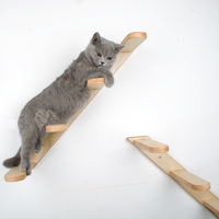 New Pet Climber Sisal Scratching Post Cat Tree Ladder Hammock Jumping Board Cat Stand Pet Wood Furniture Protection Kitten Bed