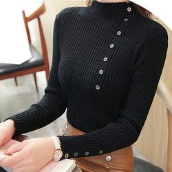 Women Sweater Turtleneck Sweaters Women Korean Fashion Woman Knitted Sweater Women Sweaters and Pullovers Winter Clothes Women 5