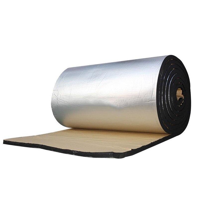 Tampon d'isolation thermique de voiture feuille d'aluminium argentée papier d'étain bouclier thermique