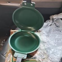 Frying-Pan Pancake-Maker Non-Stick Double-Side Flip Household Cookware Ceramic-Coating