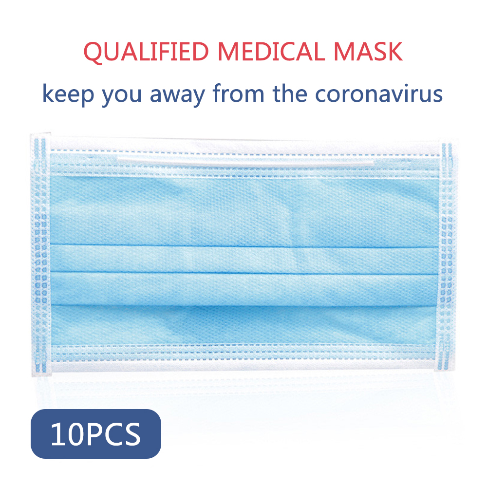 10pcs DROPSHIPPING Disposable Anti dust mask mouth korean Face MaskMasks   -
