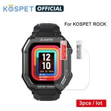 Original KOSPET ROCK relógio inteligente película protetora 3pcs protetor de tela capa proteção não vidro para c16 smarttch men