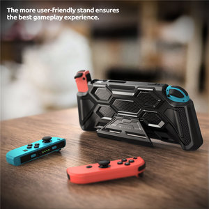 Image 3 - For Nintendo Switch Case Battle Series Mumba Heavy Duty Grip Cover For Nintendo Switch Console with Comfort Padded Hand Grips