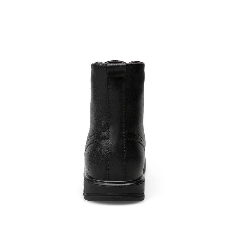 Ботинки «Челси»; мужские удобные ботинки наивысшего качества на шнуровке; модные повседневные кожаные ботинки из натуральной кожи; Мужские... - 2