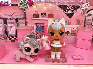 1 шт. LOL кукла сюрприз оригинальная белая кошка одежда для домашних животных обувь бутылка костюм игрушки для детей