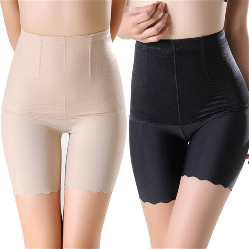 High Waist Women Seamless Safety Short Pants Tummy Control Slim Underwear Plus Size 4XL Breathable Shorts Boxer Under Skirt