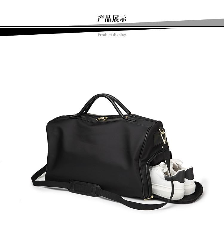 de viagem de negócios unisex bolsa de ombro saco simples duffel