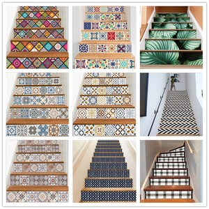 6PCS Removable Stairs Sticker